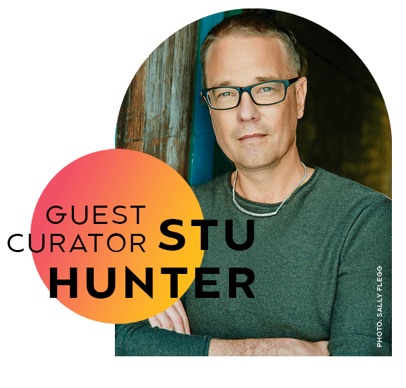 Guest curator, Stu Hunter